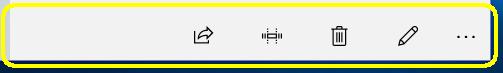 ボイスレコーダーメニューボタン